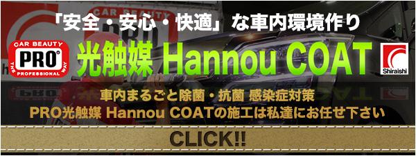PRO光触媒 Hannou COAT